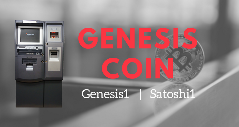 The Genesis Coin Bitcoin ATM brand is one of the most popular. The two models of Genesis Coin include the Genesis1 and the Satoshi1. The Genesis1 is the companies flagship model that allows users to quickly and easily transfer cash into BTC or BTC for cash.