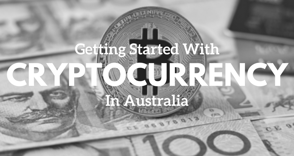 Physical Bitcoin coin with an Australian $100 dollar AUD note. Getting started with cryptocurrency in Australia