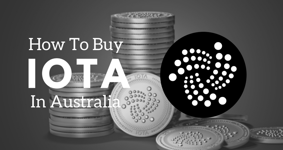 How to buy IOTA in Australia.