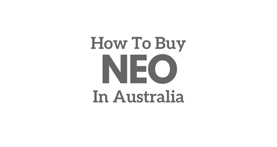 Purchasing NEO in Australia.