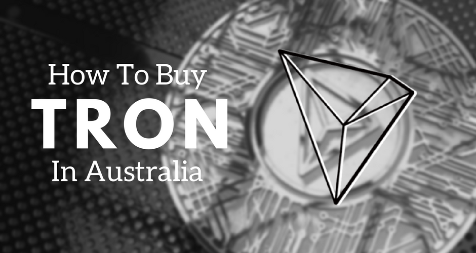 How to buy TRON in Australia using CoinSpot.